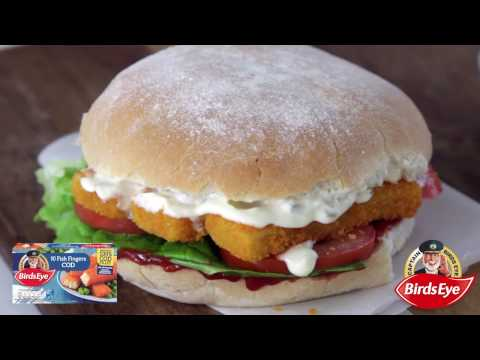 Birds Eye Recipes - Traditional Fish Finger Sandwich