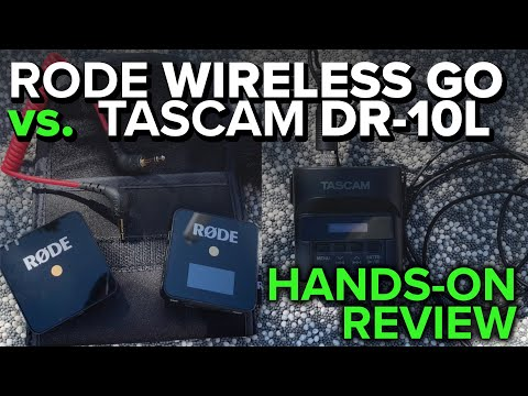 Production Gear in Review: Rode Wireless Go vs.Tascam DR-10L