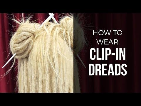 DIY Temporary Clip In Dreads - Dreadlock Hair Extensions - DoctoredLocks.com