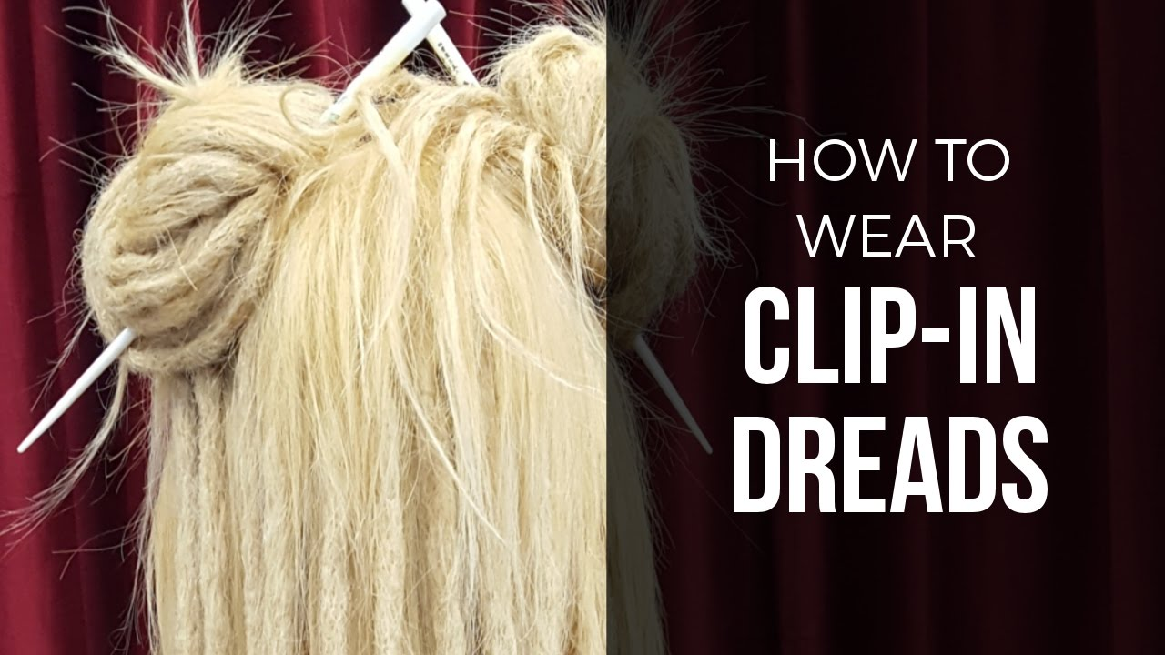 Diy Temporary Clip In Dreads Dreadlock Hair Extensions