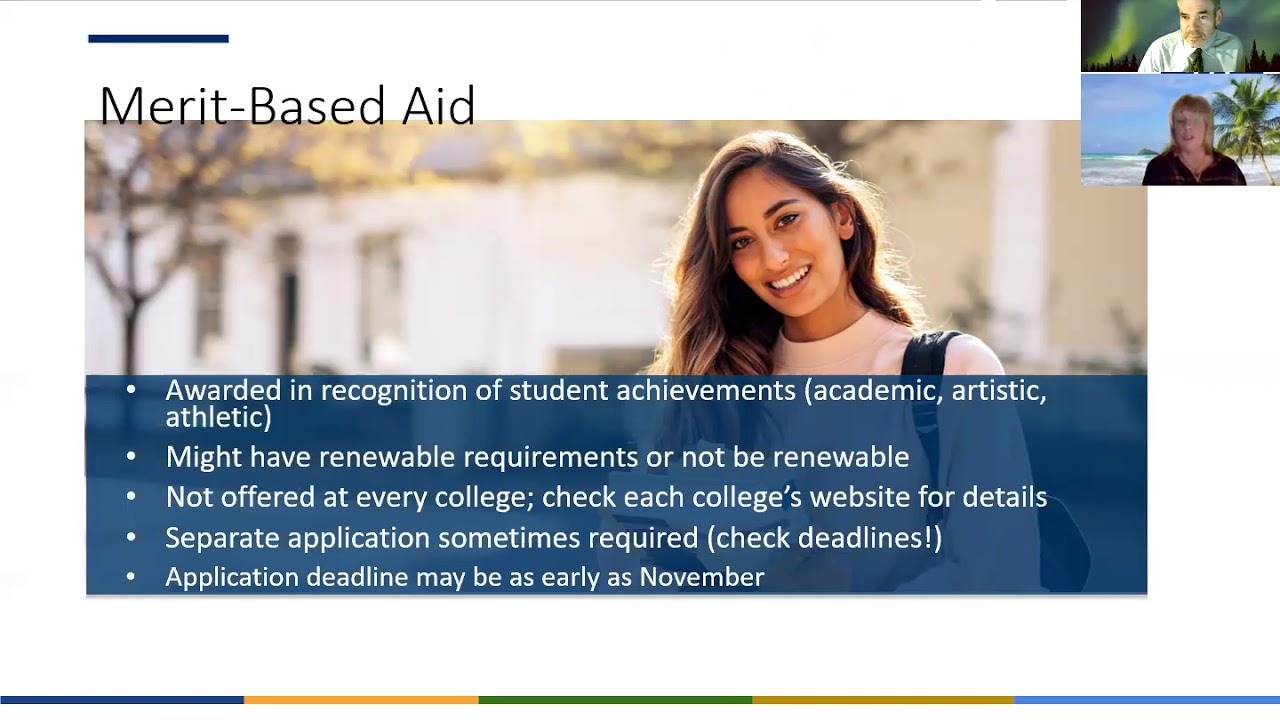 Fall 2020 Financial Aid Night Recording and Handout