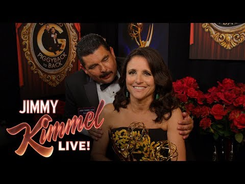 Guillermo PiggyBack-to-Back at the 2017 Emmys