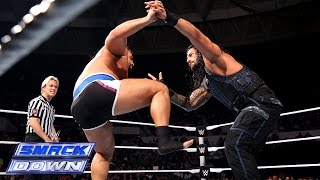 Roman Reigns vs. Rusev: SmackDown, January 02, 2015