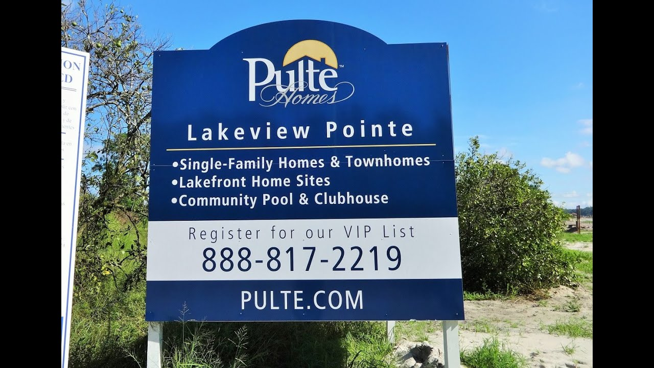 lakeview pointe by pulte homes in winter garden youtube