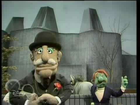 The Muppet Show. British Chap - The Gnu Song (ep 519)