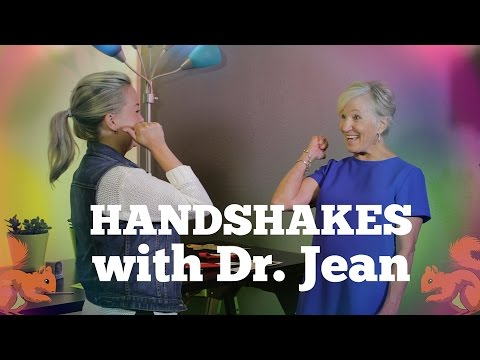 Handshakes with Dr. Jean