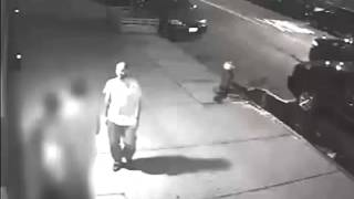 Surveillance Video: Suspect In Inwood Shooting, Robbery