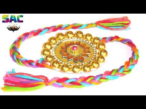 How to make  Rakhi   Handmade Rakhi   Rakhi Making Tutorial   Rakhi Design 2019   rakhi for bhai