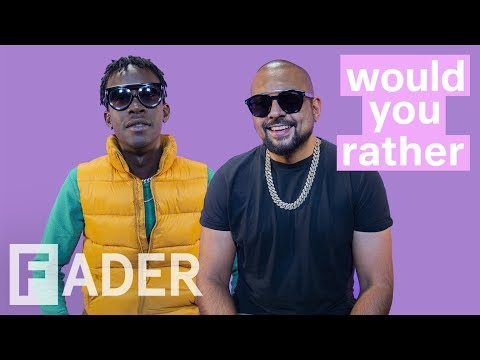 Sean Paul And Chi Ching Ching Debate Jamaican Parties & More | 'Would You Rather' Season 1 Episode 7