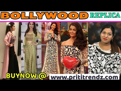BUY NOW Stylish Bollywood Replica Piece ll Online Shop ll wwwprititrendzcom