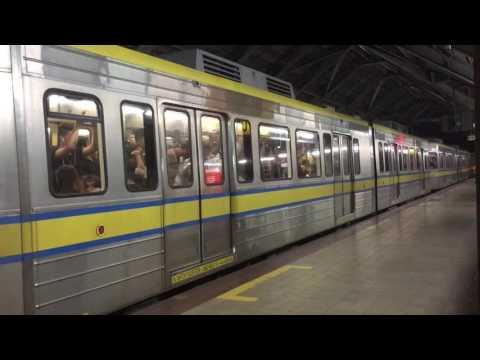 LRT-1 2nd Generation (2G) LRV Departing Tayuman Station