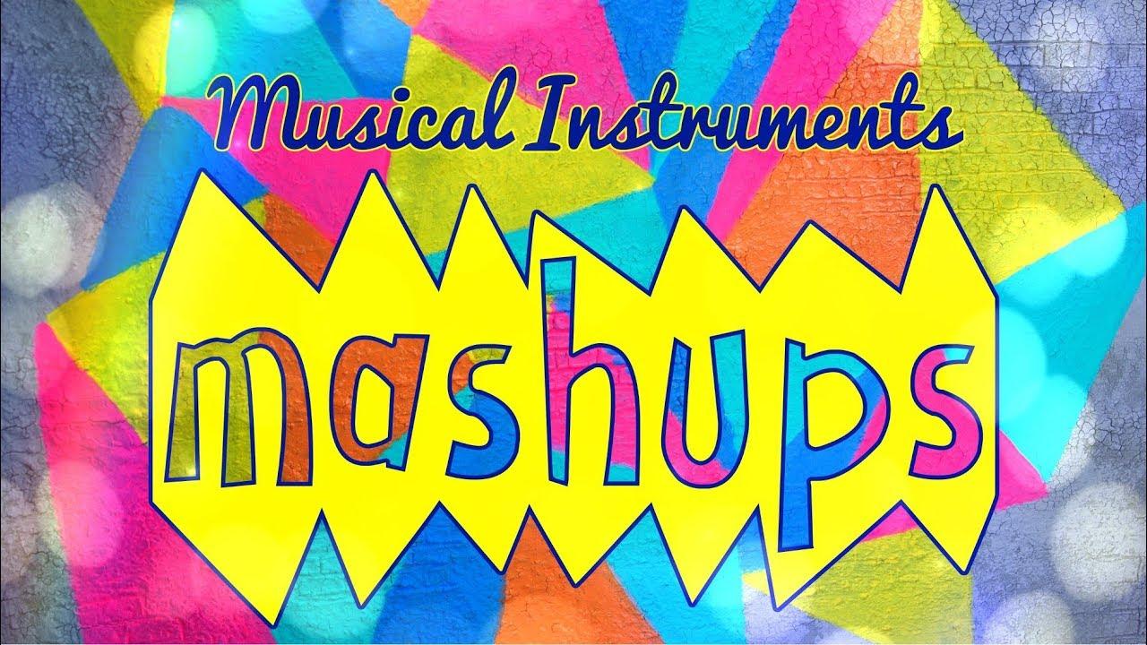 Mash Ups: DIY Doll Musical Instruments - Guitar | Piano | Clarinet | Gong and more