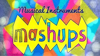 Mash Ups: DIY Doll Musical Instruments - Guitar | Piano | Clarinet | Gong and more