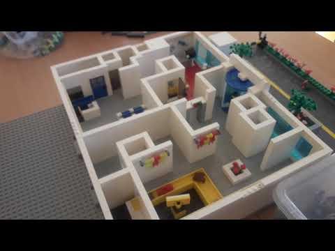 Лего самоделка здание аэропорта/часть 2