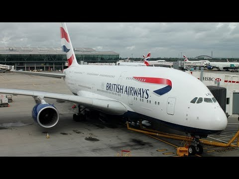 [Tripreport] Hannover - London Heathrow - Washington   ✈ *Upper Deck* British Airways Airbus A380