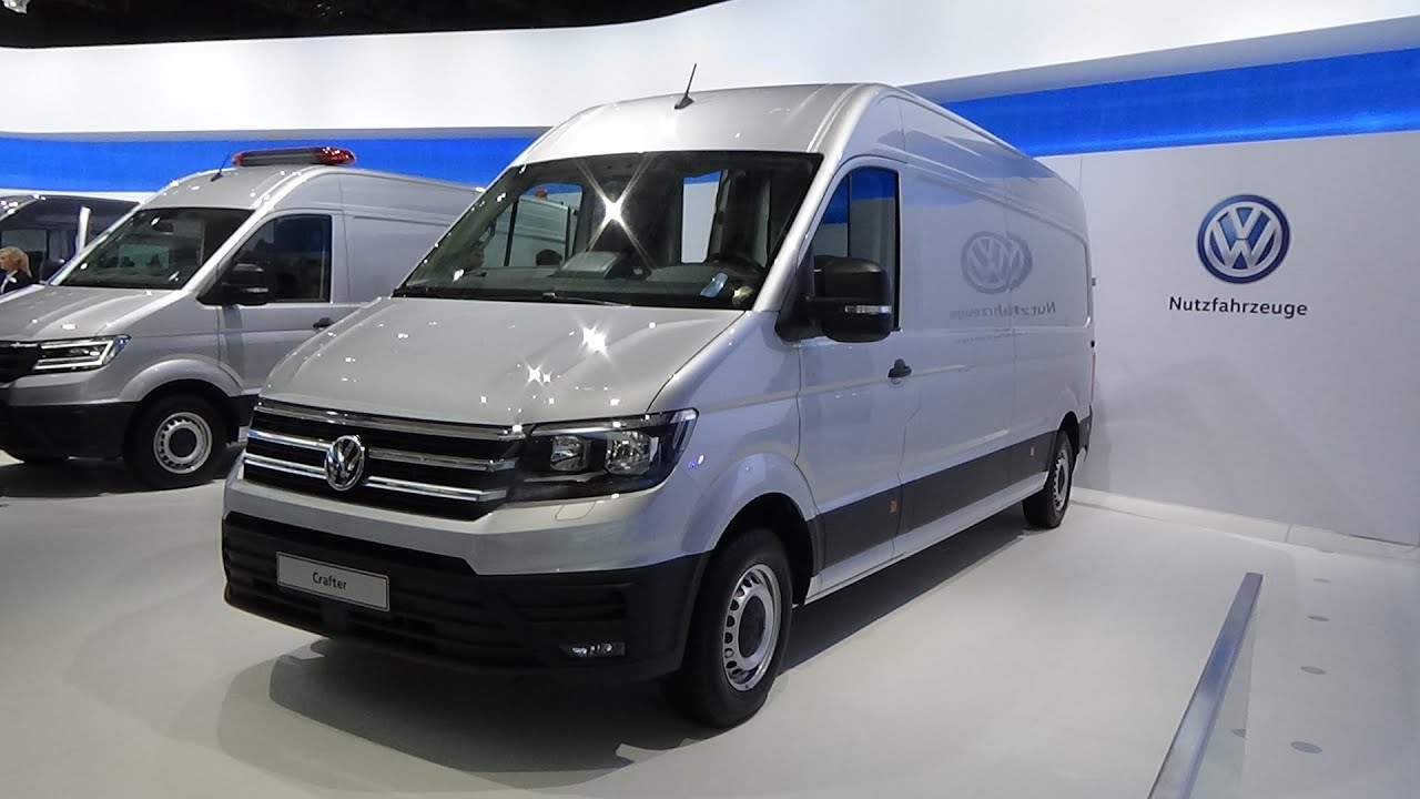 2017 Volkswagen Crafter Panel Van - Exterior and Interior - IAA Hannover  2016