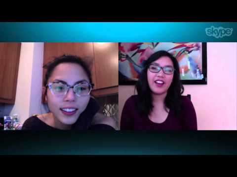 Anna Akana And A Fan Chat About Cats On Skype
