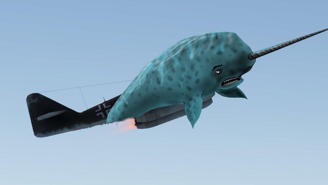 War Thunder ME-262 50mm - NARWHAL NARWHAL! - War Thunder Jet Gameplay -  YouTube