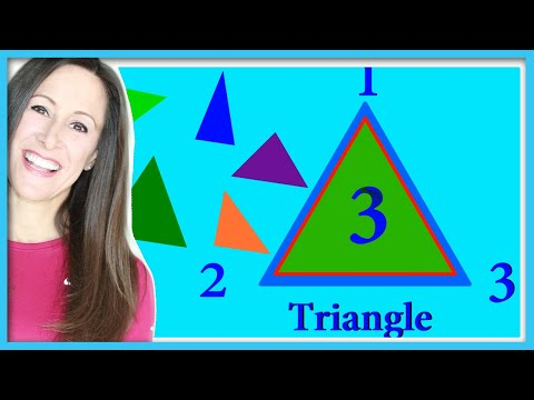Shapes Children's Song | Triangle, Circle, Square and Rectangle | Patty Shukla