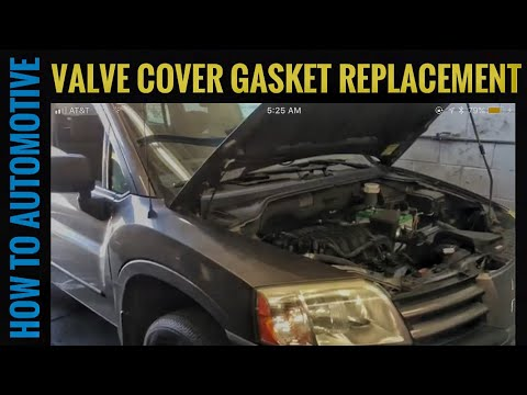 How to Replace the Valve Cover Gaskets on a 2005 Mitsubishi Endeavor