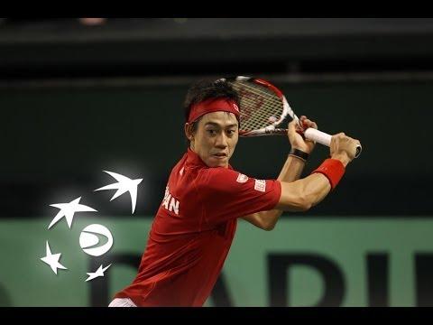Highlights: Kei Nishikori (JPN) v Peter Polansky (CAN)