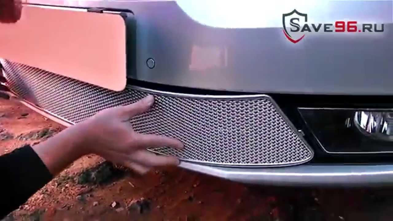 защита радиатора skoda superb