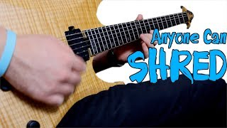 How to Play Fast on Guitar - Shred