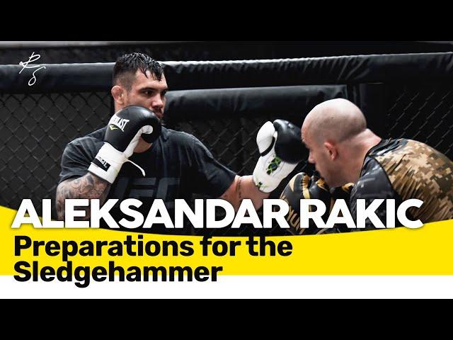 Aleksandar Rakic - Die Vorbereitungen für den Thiago