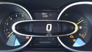 Démarrage Renault Clio IV dCi 75 de 2015