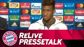 FC Bayern Press Conference ahead of PSG w/ Heynckes, Coman & Süle | ReLive