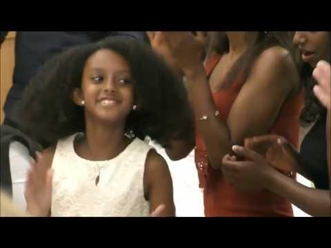 Amazing Ethiopian Kids Traditional Dance ቤዛና ሁለቱም ወንዶች ልጆች ጎበዞች ናቸዉ thumbnail