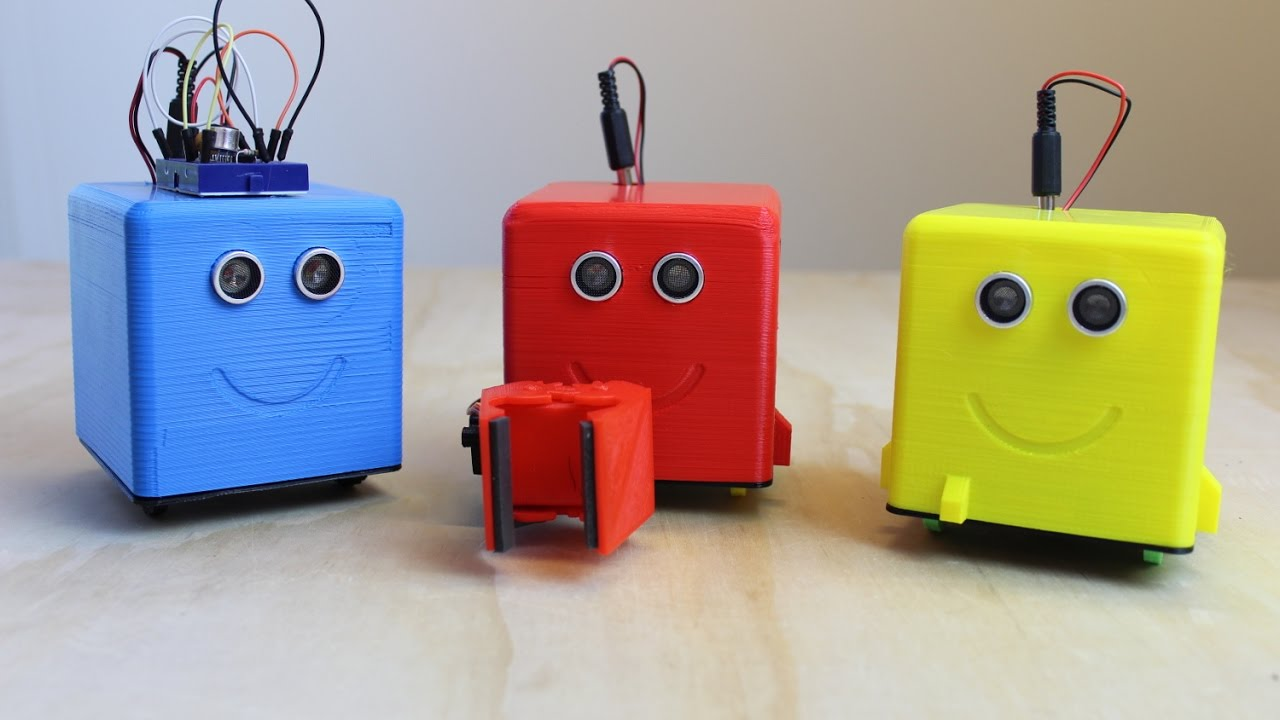 Littlebot d printed arduino robot introduction youtube