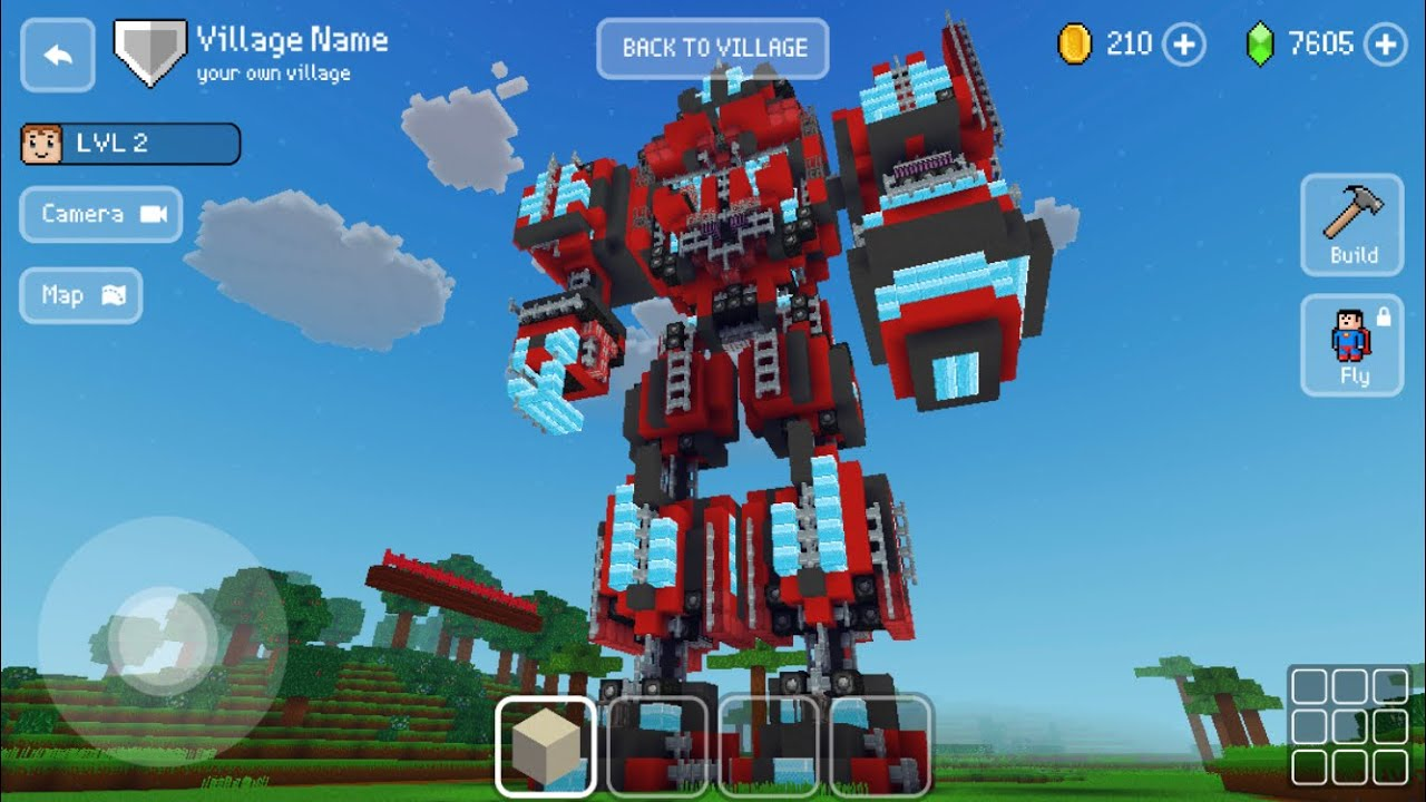 Block Craft 3D: Building Simulator Games For Free Gameplay #661 (iOS & Android) | Transformer