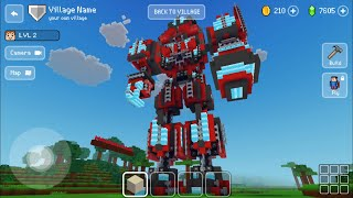 Block Craft 3D: BuiĮding Simulator Games For Free Gameplay #661 (iOS & Android) | Transformer