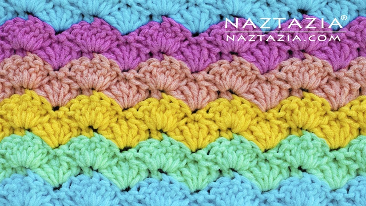 How to Crochet an Easy Shell Stitch   Naztazia ®