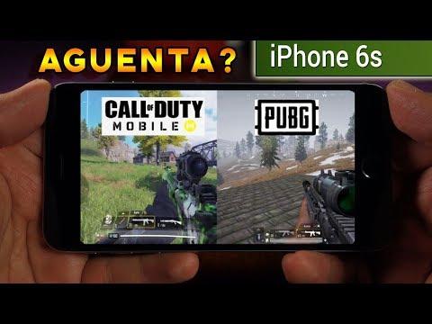 IPHONE 6S AINDA RODA JOGOS? Teste Call Of Dutty E Pubg