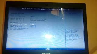 Alterando total de memória da placa de vídeo (AMD C-70)