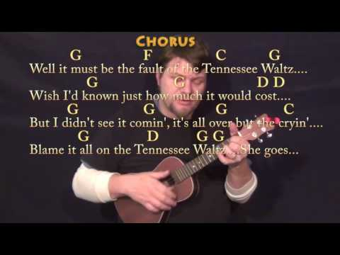 Tennessee Waltz - Ukulele Cover Lesson in G with Chords/Lyrics - G C D F