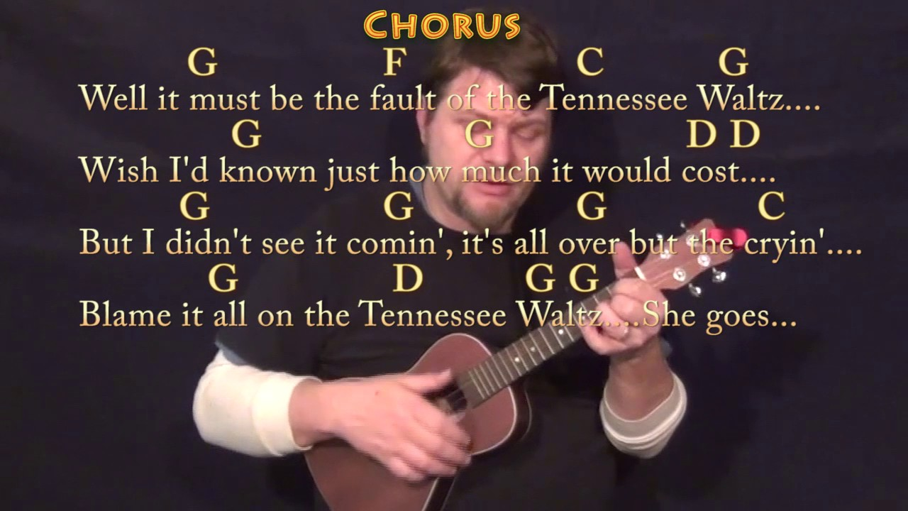 Tennessee Waltz Ukulele Cover Lesson In G With Chordslyrics