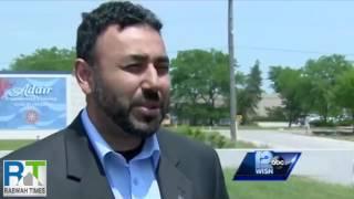 ABC 12: Ahmadiyya Muslim booth vandalized in Milwaukee