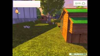 Farming Simulator 2013  -  Collecting and selling eggs