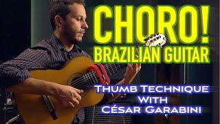 Introduction To Brazilian Choro Guitar Technique With César Garabini (feat. Olli Soikkeli)
