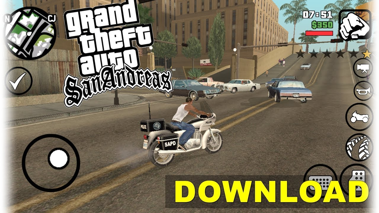 GTA SA LITE v9 para qualquer Android (430MB) APK+OBB | Download  #Smartphone #Android
