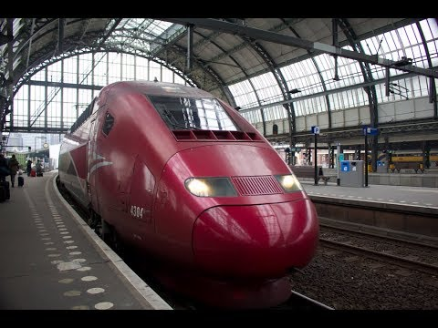 Riding the Thalys High Speed train from Amsterdam to Paris! (2/19/18)