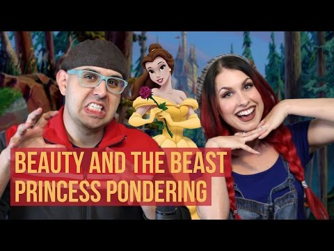 Disney Podcast - BEAUTY AND THE BEAST PRINCESS PONDERING - D