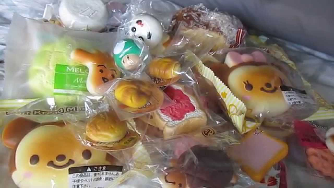 Squishy Haul From Thailand : July 2015 Squishy Collection (NEW) Doovi
