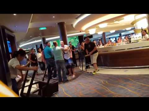 Cruise Ship Bar Fight Between Old Guy and US Marine   Video  KillSomeTimecom