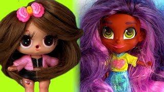 Куклы лол сюрприз с париками или HAIRDORABLES Кто станет новой подружкой Мультик ЛОЛ и распаковка