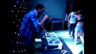 Dj Cidinho Camp tocando na Festa (Noite do Sinal) em Canarana MT