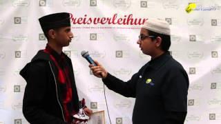 Faraz Khan - 100 Meter Sprint - Salana Ijtema 2015 - Majlis Atfal-Ul-Ahmadiyya Deutschland